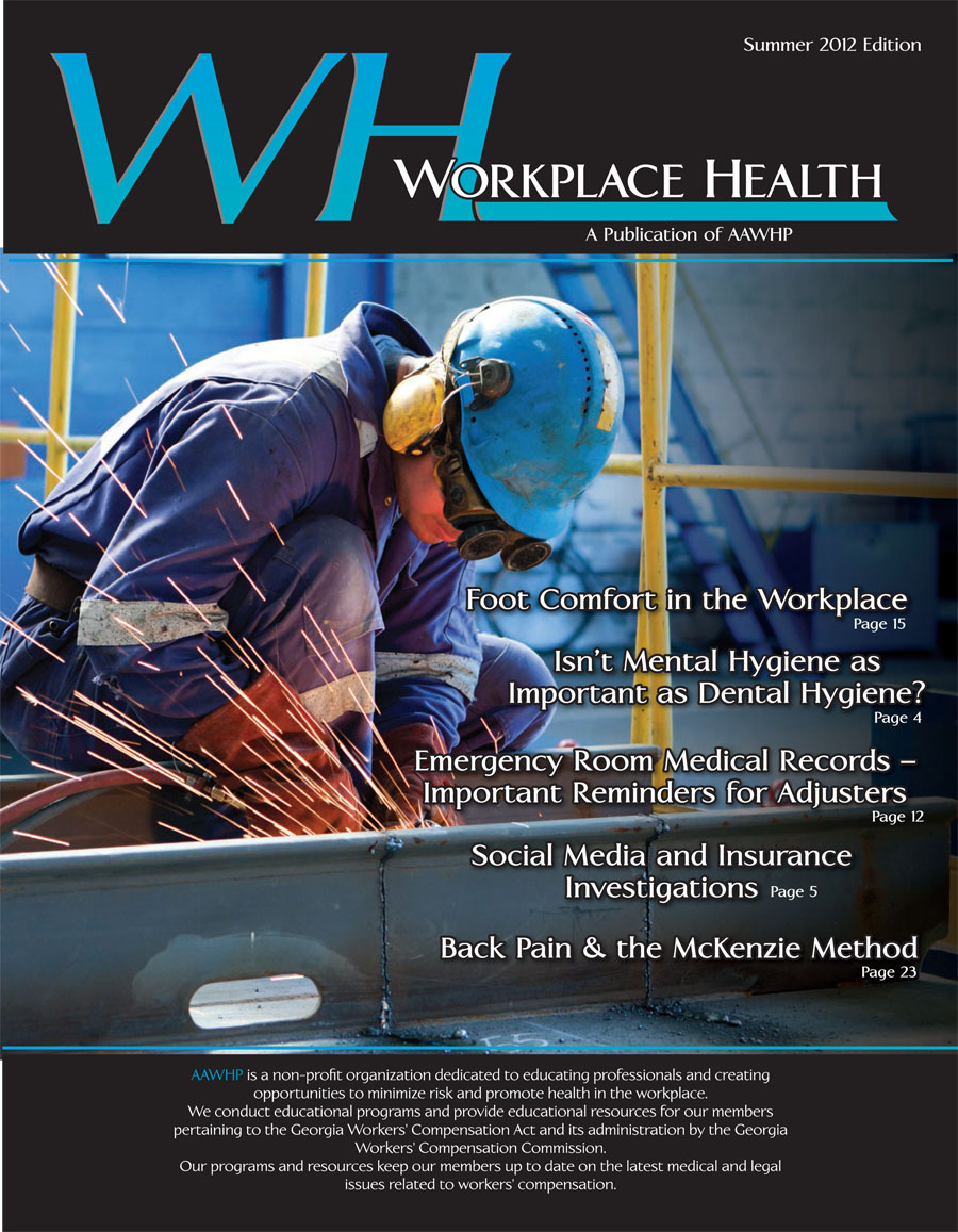 Workplace Health Magazine Summer 2012
